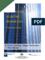 4 Electric Lighting Design Techniques