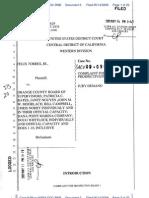 Torres v. Orange County Board of Supervisors (Robert's Justice)