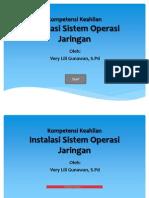 Instalasi Sistem Operasi Jaringan