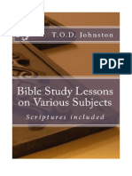 Various Bible Study Lessons