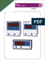 Digit AC Ammeter, Voltmeter