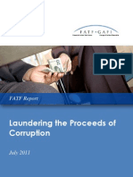 Laundering the Proceeds of Corruption