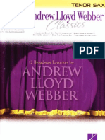 Andrew Lloyd Webber - 12 Broadway Favorites by Andrew Lloyd Webber (Bb)