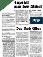 Flugblatt 1930 Nr. 12, Purimfest, Ludendorffs Volkswarte