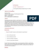 Management of Open Fractures