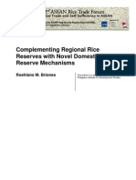 Complementing Regional Rice Reserves with Novel Domestic Reserve Mechanisms