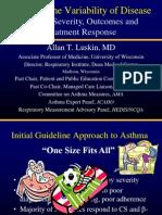 Asthma Variability-WSAAI Syllabus