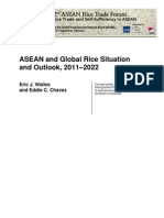 ASEAN and Global Rice Situation and Outlook, 2011–2022