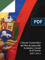 Lineas Generales Del Plan de Desarrollo 2007-2013 Venezuela