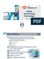 passive optical network of company ECI