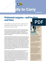 Fishmeal Cargoes Self Heating