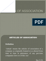 ARTICES_OF_ASSOCIATION.ppt