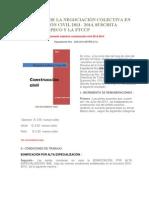 ACTA FINAL DE LA NEGOCIACIÓN COLECTIVA EN CONSTRUCCIÓN CIVIL 2013