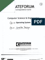 Gate Forum 09 CSE Operating System Practice Set