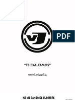 Acordes VISION JUVENIL-Te Exaltamos