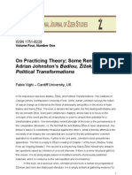 Fabio Vighi, 'On Practicing Theory - Some Remarks on Adrian Johnston's Badiou, Zizek, and Political Transformations'.pdf