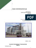 Plan de Seguridad 2012 - Universidad Alas Peruanas-filial Huacho