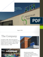 WS Company Presentation