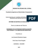 Analisis de Fallas y Control de Protecciones Como Prevencion de Riesgos Electricos