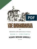 Mahabharata Book 11 Stri Parva