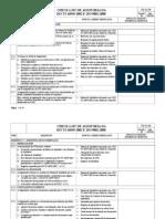 Check List de Auditoria Iso Ts 16949 2002 Rev 00 2