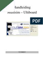 handleiding multisim ultiboard