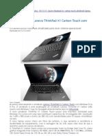 ThinkPad X1 Carbon Touch NÃO TEM PORTA Gigabit ethernet