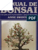 Manual de Bonsai-Anne Swinton