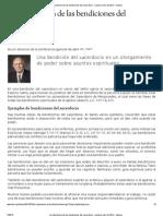 La Importancia de Las Bendiciones Del Sacerdocio - Liahona Julio de 2012