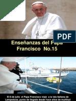Enseñanzas del Papa Francisco - Nº 15.pps