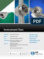 Instrument Tees