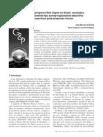Artigo Resultados Seis Sigma No Brasil