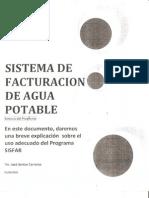 Sistema de Facturacion de Agua Potable