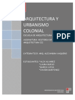 Informe Arquitectura Colonial