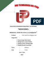 Laboratorio de Fisica - Mediciones Imprimir