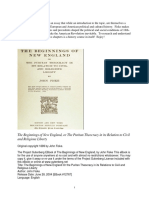 Beginnings of New England Chapters-1-2 Fiske1889