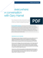 Leaders Everywhere a Conversation With Gary Hamel