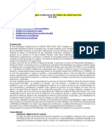 Plan Estrategico Centro Salud Cono Sur Peru