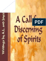Call for Discerning of Spirits