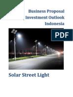 Business Proposal_Solar Street Light