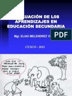 2-evaluacindelosaprendizajessantaana2011-111129204333-phpapp02