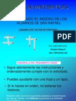 TALLER DE MATEMATICA con fosforos.ppt