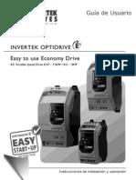 82-E2MAN-SP Invertek ODE-2 User Guide Iss2.05_ESPAÑOL