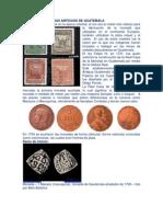 Postales y Monedas Antiguas de Guatemala
