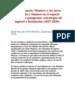 Don Venancio, Montero y los otros. Mapuche y blancos en el espacio fronterizo pampeano