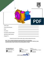 Pump LHD Maintenance Manual
