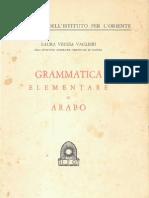 Grammatica Elementare Di Arabo