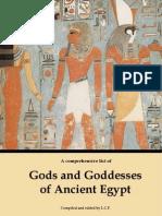 Gods and Goddesses of Ancient Egypt