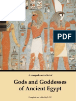 Gods and Goddesses of Ancient Egypt