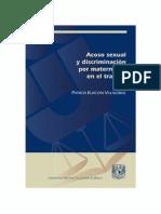 ACOSO SEXUAL Y DISCRIMINACIÓN POR MATERNIDAD EN EL TRABAJO